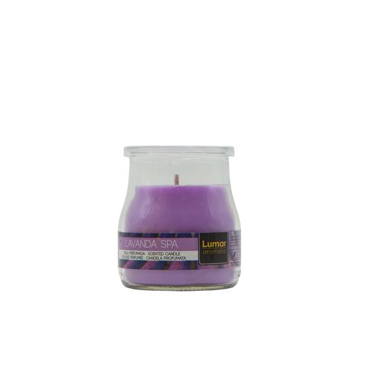 VELA VASO YOGURT PERF. LAVANDA SPA 900405