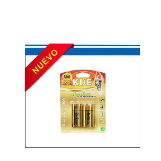 PILAS KDE ALCALINAS LR06 AA 100013