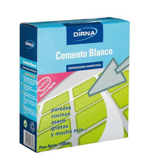 CEMENTO BLANCO PAQUETE 1 KG 201012