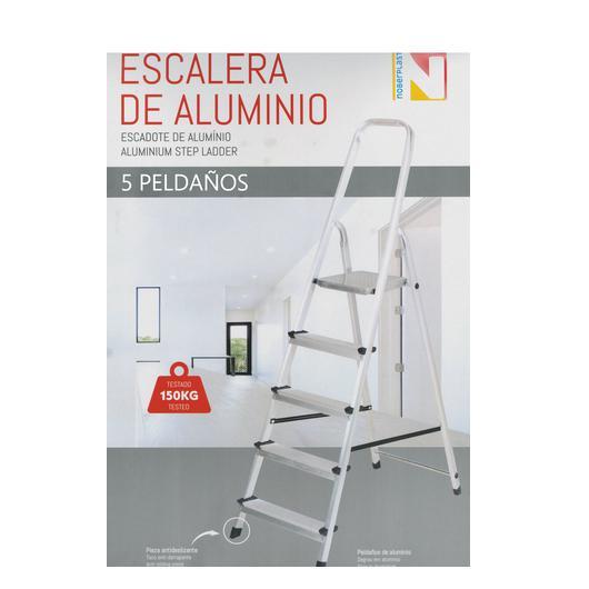 ESCALERA ALUMINIO 5 PELDAÑOS 150122
