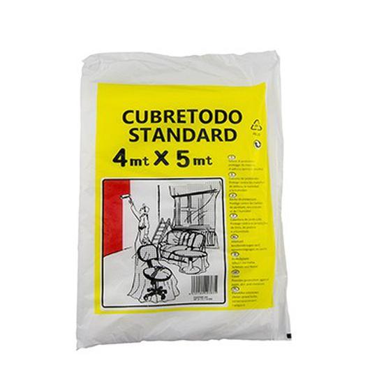 PLASTICO CUBRETODO SALVALLUVIA STANDAR 4 x 5 MT hp1511