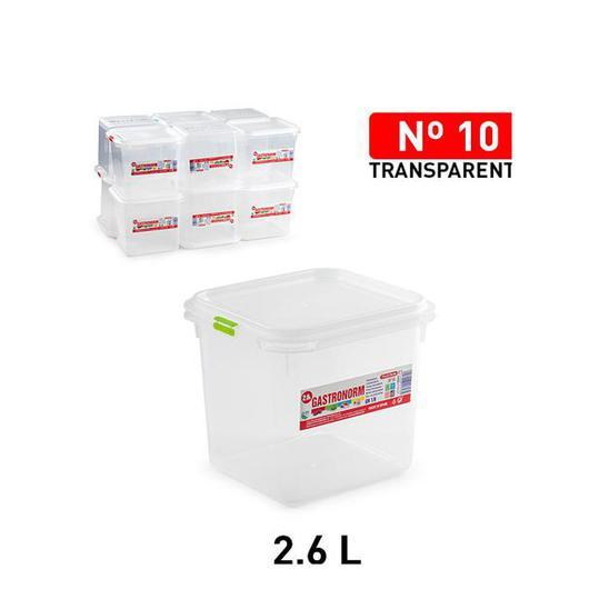 FIAMBRERA FROST N 10 2600 ML ALTA TRANSPARENTE 12592.06