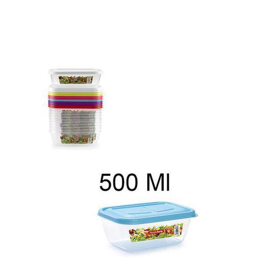 FIAMBRERA RECTANGULAR 500 ML 11571