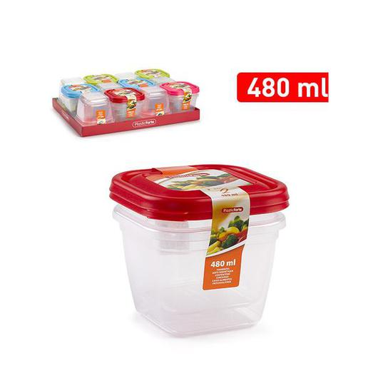 SET 2 FIAMBRERAS CUADRADA 480 ML 11548