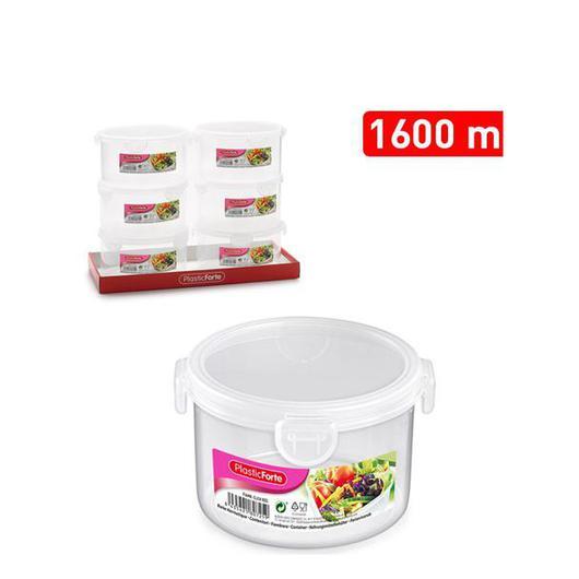 FIAMBRERA CLICK REDONDA 1600 ML  11675