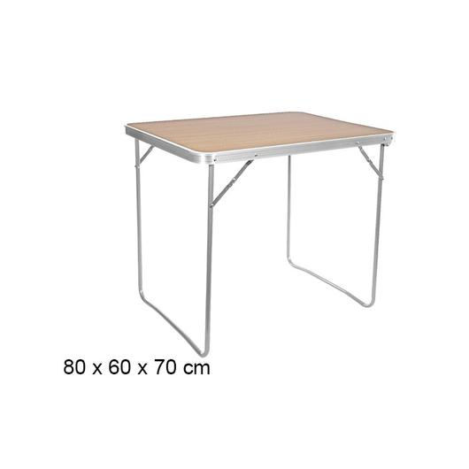 MESA PLAYA PLEGABLE COLOR MADERA 80X60X70CM 108642