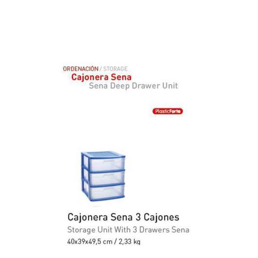 CAJONERA SENA 3 CAJONES AZUL 1123404
