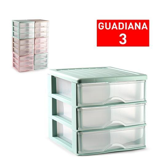 CAJONERA GUADIANA 3 CAJONES SURTIDO VRM 17,5CM 11247.1A