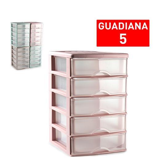 CAJONERA GUADIANA 5 CAJONES SURTIDO VRM 17,5CM 11267.1A