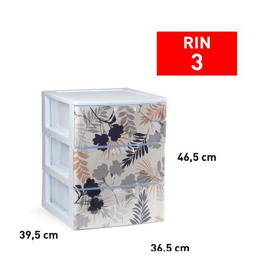 CAJONERA RIN 3 CAJON BLANCO DECO32 11926.2L