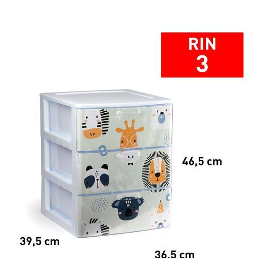 CAJONERA RIN 3 CAJON BLANCO DECO36 11926.6L