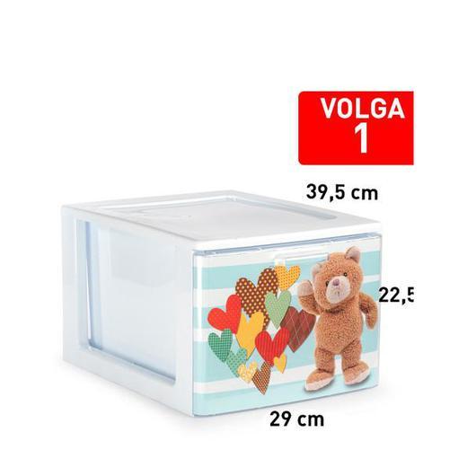 CAJONERA VOLGA 1 CAJON BLANCO DECO3 119304E