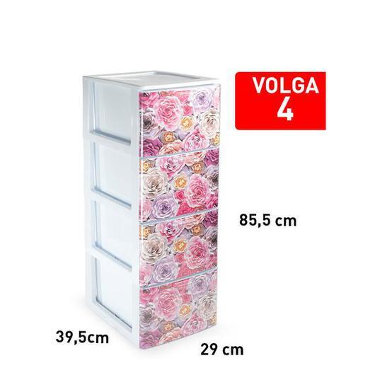 CAJONERA VOLGA 4 CAJON BLANCO DECO16 119337F