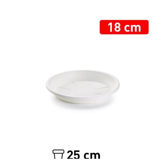 PLATO MACETA 18 CM BLANCO 1128301