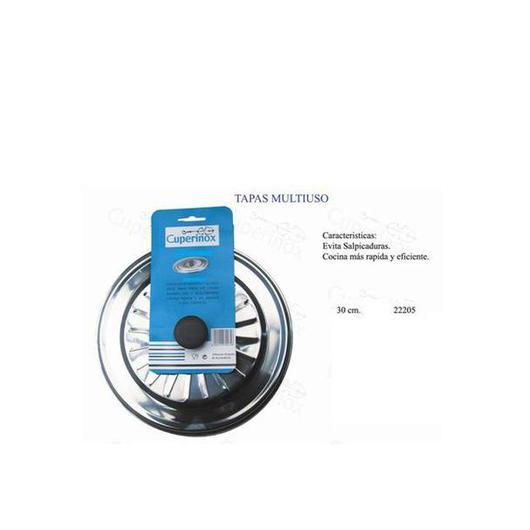 TAPA SARTEN 30 CM ACERO INOX 22205