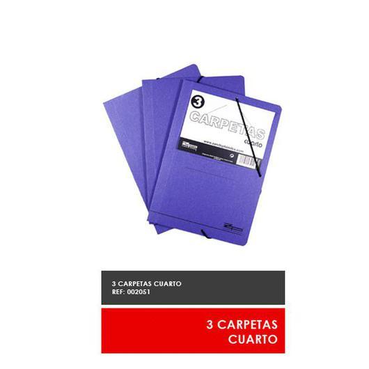 CARPETA AZUL 1/4 3U  002051