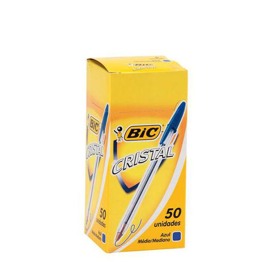 BOLI BIC CRISTAL AZUL 50U 080105