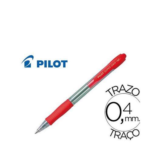 BOLI PILOT SUPER GRIP ROJO 12U 080141
