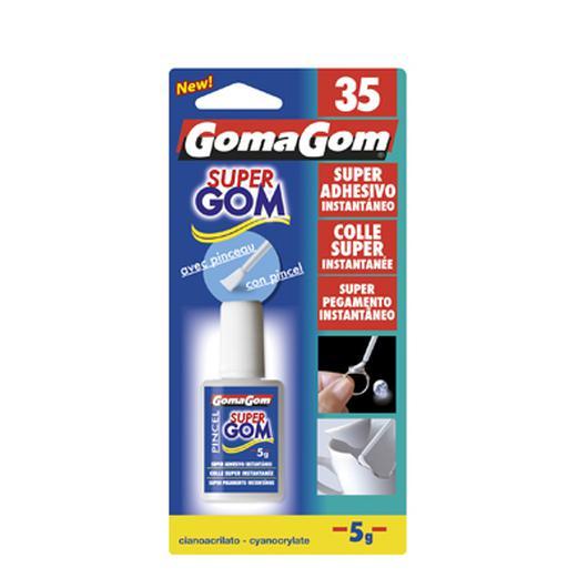 GOMAGOM Nº35 CIANO 5GR PINCEL 15100