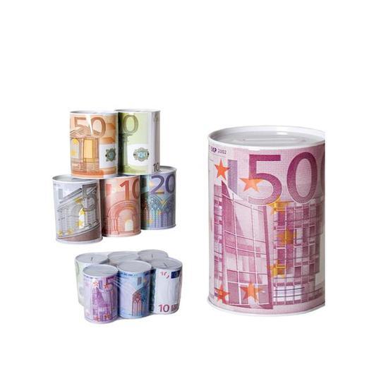 HUCHA METAL EUROS MEDIANA 120010